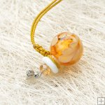 Murano Glass Aromatherapy Necklace PN478