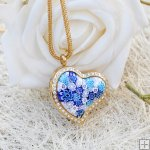 Millefiori Essential Oil Locket Necklace PN467