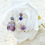 Glass Perfume Earrings PN529