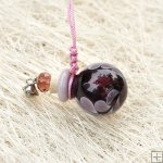 Murano Glass Aromatherapy Necklace PN481