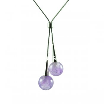 New design aromatherapy necklace with stainless steel chain PN413