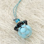 Murano Glass Aromatherapy Necklace PN482