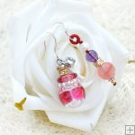 Glass Perfume Earrings PN530