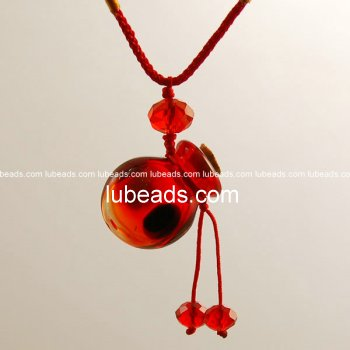 Perfume Necklace Aroma Bottle Pendant Murano Glass Wholesale Gift PN134