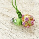 Murano Glass Aromatherapy Necklace PN473