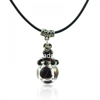 Aroma Bottle Necklace Murano Glass Wholesale PN326