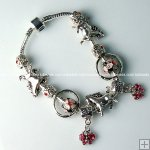 Wholesale Pandora Bracelet with silver plated charm P115,Sold per piece
