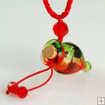 Perfume Necklace Aroma Bottle Pendant Murano Glass Wholesale Gift PN151