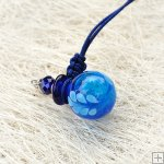 Murano Glass Aromatherapy Necklace PN477