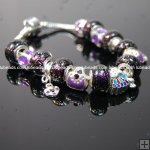Wholesale Pandora Bracelet with silver plated charm P122,Sold per piece