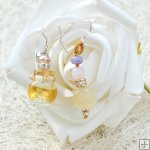 Glass Perfume Earrings PN528