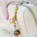Gemstone Glass Perfum Keychain PN511