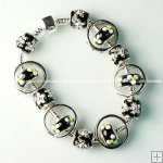 Wholesale Pandora Bracelet with silver plated charm P116,Sold per piece