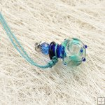 Murano Glass Aromatherapy Necklace PN476